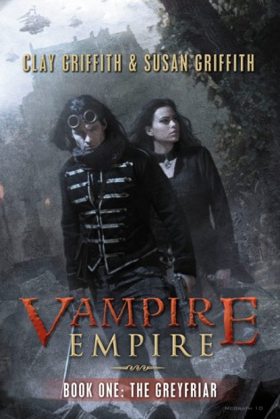 greyfriar, susan griffith, Clay griffith, vampire empire trilogy